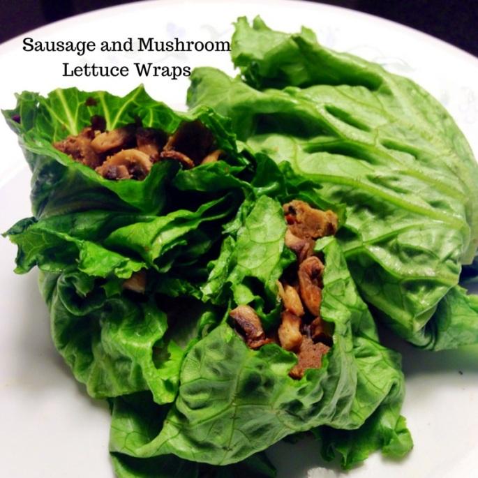 sausage mushroom lettuce