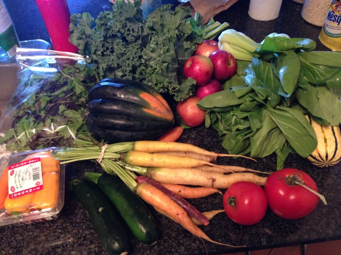 vegetables saladforbreakfast mamaearthorganic